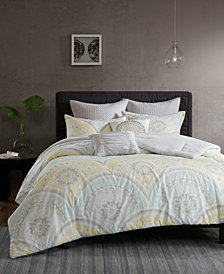 Urban Habitat Matti Cotton 7-Pc. Full/Queen Duvet Cover Set