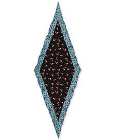 COACH Cherry Star Silk Diamond Scarf
