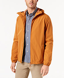 Barbour Men's Tailored-Fit Irvine Full-Zip Hooded Rain Jacket