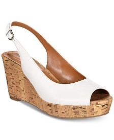 Style & Co Sondire Platform Wedge Sandals, Created for Macy's