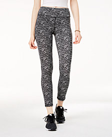 Material Girl Active Juniors' Printed Yoga Leggings, Created for Macy's