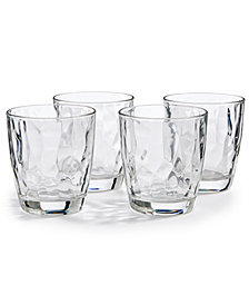 Bormioli Rocco Diamond 4-Pc. Double Old Fashioned Glass Set