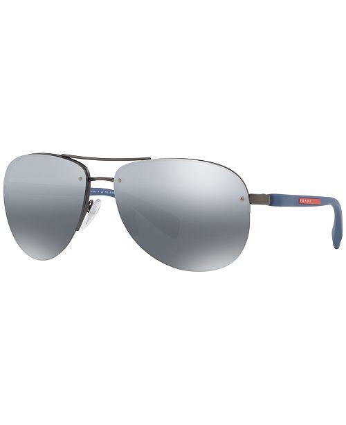 12b3deea0dd2 Prada Linea Rossa Polarized Sunglasses , PS 56MS & Reviews ...