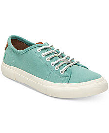 Frye Gia Canvas Lace Sneakers