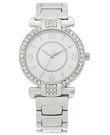 Women's Silver-Tone Bracelet Watch 36mm, Created for Macy's