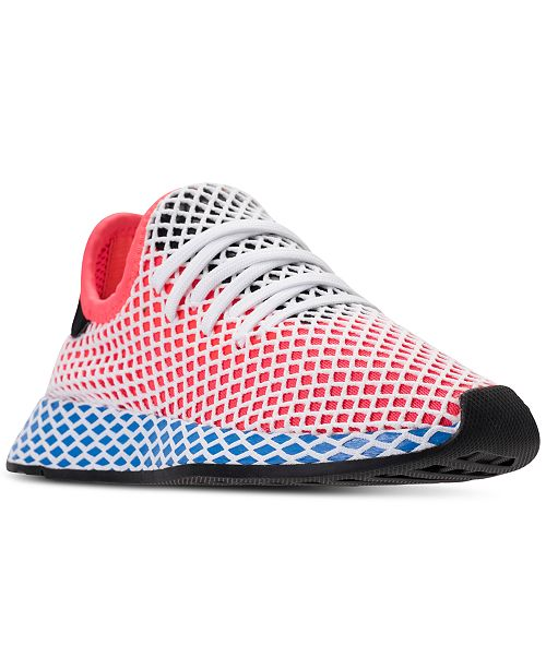 90a8722c05155 adidas Big Boys  Deerupt Runner Casual Sneakers from Finish Line ...
