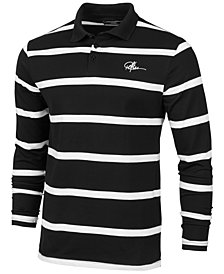 Young & Reckless Men's Thin-Striped Rugby Polo Shirt