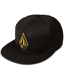 Volcom Men's Stone Stack Logo Fitted Cap