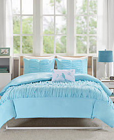 Mi Zone Mirimar 4-Pc. Full/Queen Duvet Cover Set