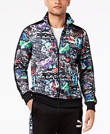 Puma Men's T7 Graffiti Printed Track Jacket