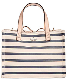 kate spade new york Canvas Sam Small Satchel