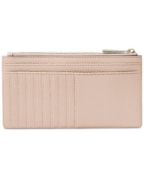 5c3d8e631e705f Michael Kors Pebble Leather Slim Card Case & Reviews - Handbags ...