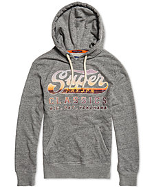 Superdry Men's Classics Lite Weight Graphic Hoodie