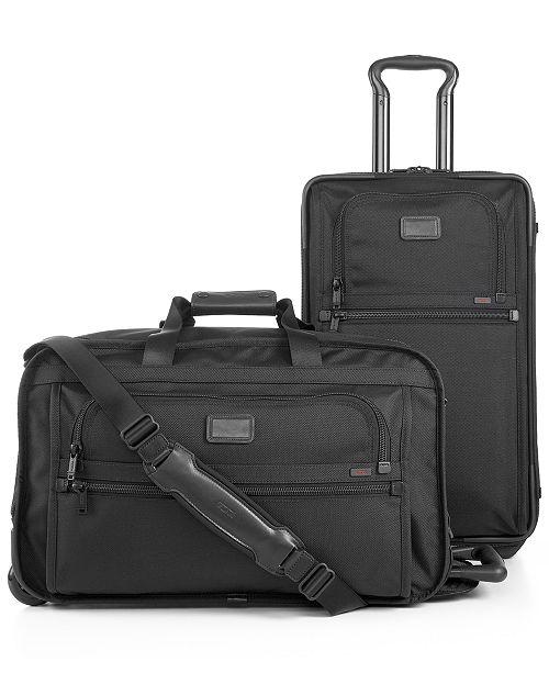 Tumi Alpha Luggage & Reviews