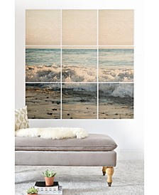 Bree Madden Wave Crash 9-Pc. Printed Wood Wall Mural