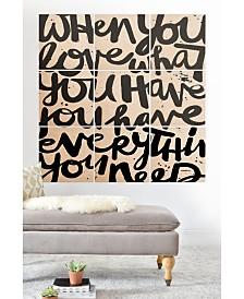Deny Designs Kal Barteski 9-Pc. Printed Wood Wall Mural