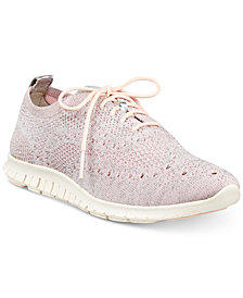 Cole Haan Zerøgrand Stitchlite Wingtip Oxford Sneakers