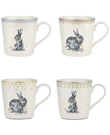 Spode Meadow Lane Mugs, Set of 4
