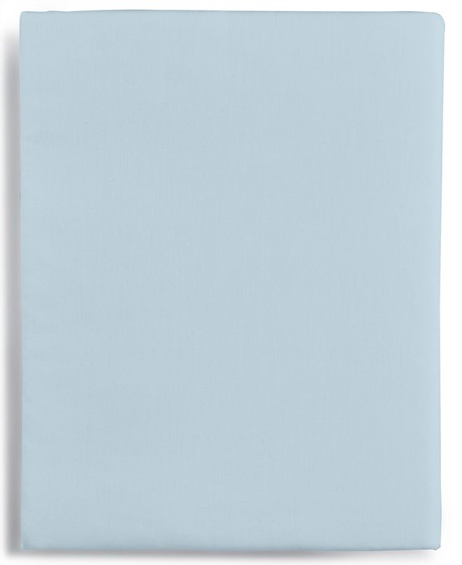 Martha Stewart Collection Solid Open Stock 400 Thread Count Twin XL Fitted Sheet, Created for Macy's