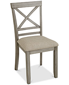 Fairhaven Dining Upholstered Side Chair, Created for Macy's