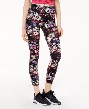 Material Girl Active Juniors' Printed Yoga Leggings, Created for Macy's