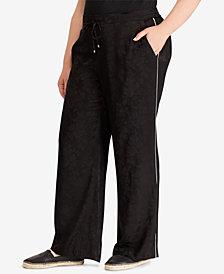 Lauren Ralph Lauren Plus Size Wide-Leg Pants