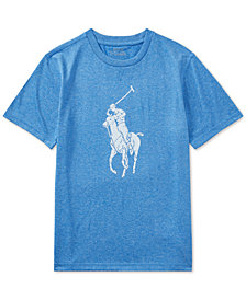 Polo Ralph Lauren Moisture-Wicking Jersey T-Shirt, Big Boys