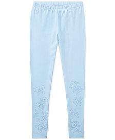 Polo Ralph Lauren Embroidered Leggings, Big Girls