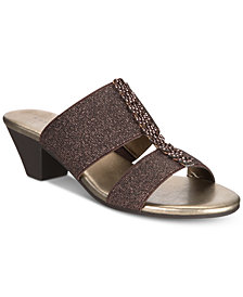 Karen Scott Zaila Slip-On Sandals, Created for Macy's