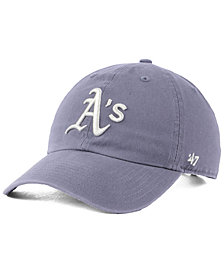 '47 Brand Oakland Athletics Dark Gray CLEAN UP Cap