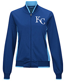 G-III Sports Women's Kansas City Royals Triple Track Jacket