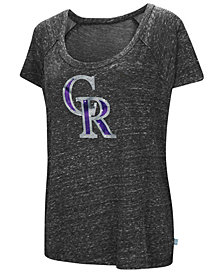 G-III Sports Women's Colorado Rockies Outfielder T-Shirt