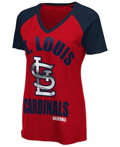 G-III Sports Women's St. Louis Cardinals Game On T-Shirt