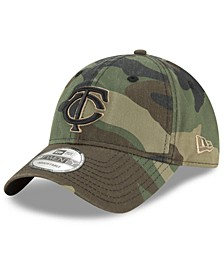 Minnesota Twins Camo Core Classic 9TWENTY Cap