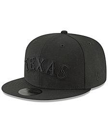 New Era Texas Rangers Blackout 59FIFTY Cap