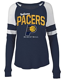 Women's Indiana Pacers Space Dye Long Sleeve T-Shirt
