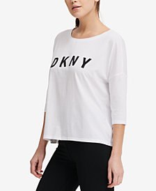 DKNY Sport Drop-Shoulder T-Shirt