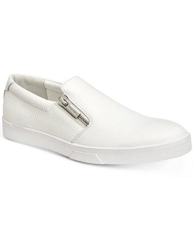 Calvin Klein Men's Ibiza Nappa Leather Sneakers