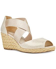Bandolino Hullen Espadrille Platform Wedge Sandals
