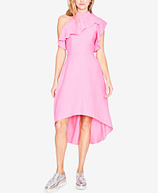 RACHEL Rachel Roy Ruffled High-Low Midi Dress, Created for Macy's