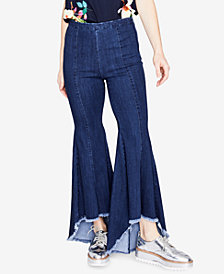 RACHEL Rachel Roy Cropped Flare-Leg Jeans, Created for Macy's