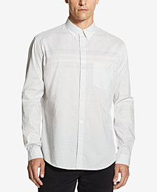 DKNY Men's Woven Gingham Shirt