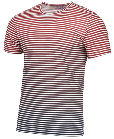 American Rag Men's Striped Ombre T-Shirt, Created for Macy's