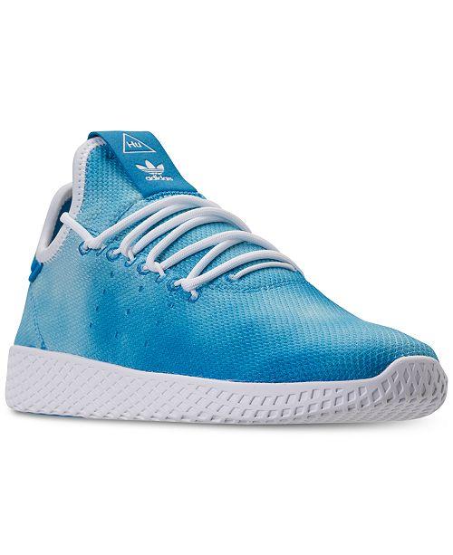 buy popular 09878 b2f1b ... adidas Men s Originals Pharrell Williams Tennis HU Casual Sneakers from  Finish ...