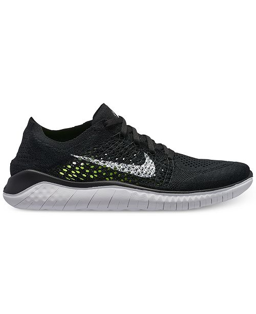 ... Nike Women s Free Run Flyknit 2018 Running Sneakers from Finish ... 0df4c7285