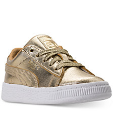 Puma Toddler Girls' Suede Casual Sneakers from Finish Line