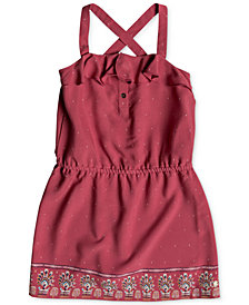 Roxy Border-Print Sun Dress, Toddler Girls