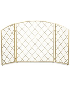 Three Panel 29'' Fireplace Screen