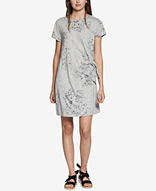 Sanctuary Wrapsody Cotton Printed Dress
