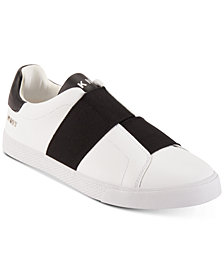 DKNY Men's Brogan Asymmetrical Elastic Gore Slip-On Sneakers